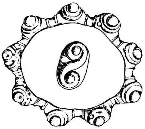 Datování náramky sponou